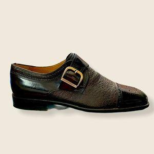 MORESCHI Italian Leather Dress Shoes